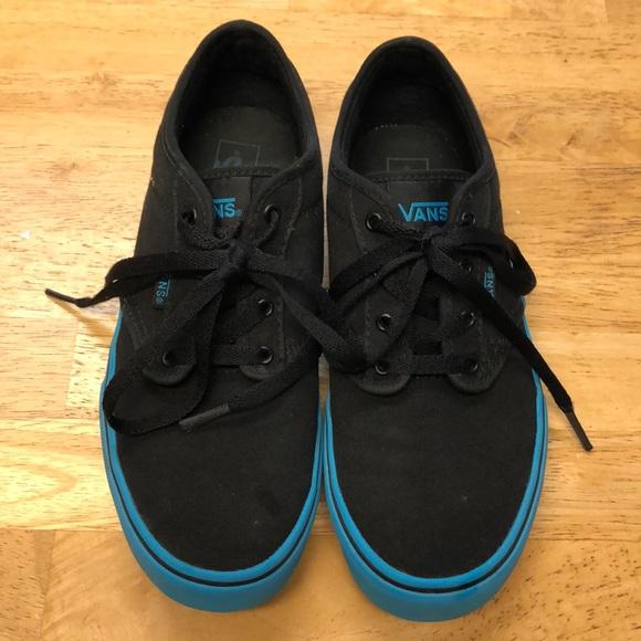 Vans Shoes | Boys Size 55 Black And